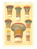 Egyptian Capital Designs Print