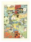 Japanese Design Motifs Reprodukcje
