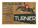 Ad for Berlin Horse Show Prints