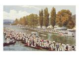 Henley Regatta, Oxfordshire, England Prints