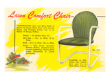 Lawn Comfort Chair Advetisement Art