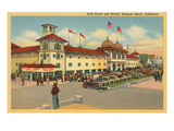 Bath House, Redondo Beach, California Prints
