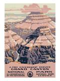 Grand Canyon National Park Travel Poster Prints