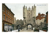 Micklegate Bar, York, England Prints