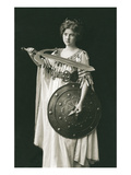 Wagnerian Warrior Heroine Prints
