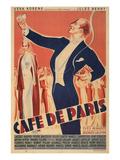 Cafe De Paris Theater Poster Poster