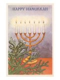 Happy Hanukkah, Menorah Prints
