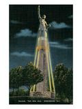 Vulcan Monument, Birmingham, Alabama Poster