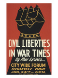 Iron Fist, Civil Liberties Poster Print