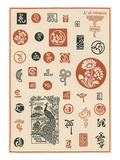 Vintage Dingbats Print
