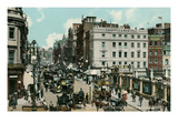 The Strand, Charing Cross, London, England Poster
