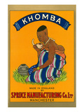 African Woman, Khomba Poster Posters