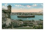 Morro Castle, Havana, Cuba Poster