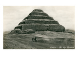 Step Pyramid at Sakkarah, Egypt Print