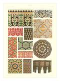 Arabic Design Motifs Print