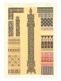 Geometric Hindu Motifs Poster