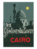 The Continental Savoy, Cairo, Egypt Posters