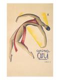 Carina Ari Modern Dance Poster Print