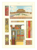 Chinese Design Motifs Poster