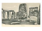 Trilithons, Stonehenge, England Art