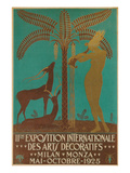 Poster for Decorative Arts Exhibition Prints