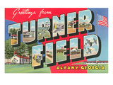 Greetings from Turner Field, Georgia Print