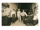 Old Time Tailor Shop Print