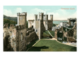 Carnarvon Castle, Wales, UK Prints