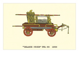 Vintage Firefighting Equipment Print