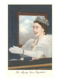 Young Queen Elizabeth II Print