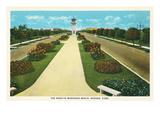 Road to Marianao Beach, Havana, Cuba Posters