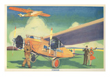Fokker Aircraft, on Ground, in Flight Posters