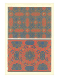 Moorish Interwoven Patterns Prints