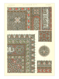 Arabian Tile Patterns Posters