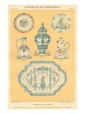 Furniture Dictionary, French Ceramics Prints