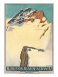 Jungfrau, Swiss Alps Posters