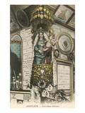 Notre Dame De Grace, Honfleur, France Posters