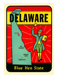 Delaware Town Crier Decal Art