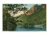 Franconia Notch, White Mountains, New Hampshire Kunstdrucke