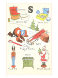 Learning the Alphabet, S Posters