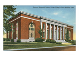 Library, Coe College, Cedar Rapids, Iowa Posters