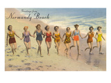 Greetings from Normandy Beach, New Jersey Posters