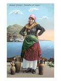 Sicilian Peasant Woman, Italy Prints