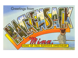 Greetings from Hackensack, Minnesota Prints