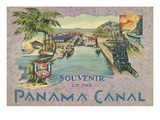 Souvenir of the Panama Canal Art