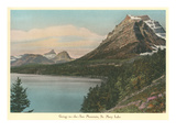 Going to the Sun Mountain, Glacier Park, Montana Prints