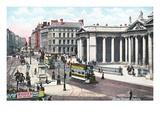 Dame Street, Dublin, Ireland Print