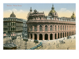 New Stock Exchange, Genoa, Italy Poster