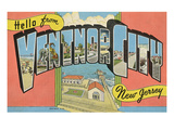 Hello from Ventnor City, New Jersey Prints