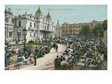 Vintage Monte Carlo Scene Prints